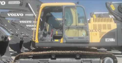 volvo EC210 Service training