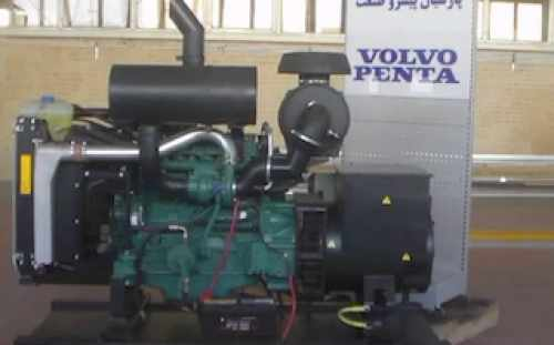 Volvo Diesel Generator TAD531GE cold start and change filters