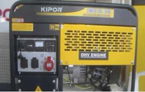 Kipor KGE12E3 first start and change filters