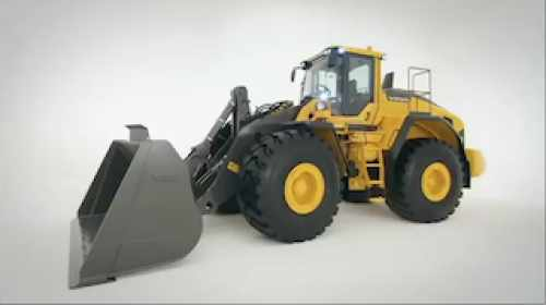 volvo wheel loader L220H part 1