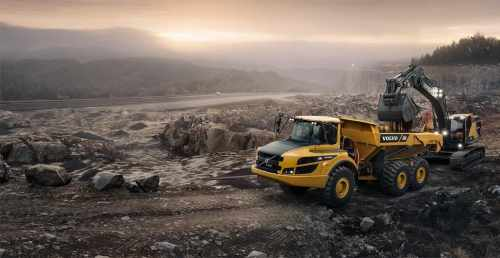 VOLVO ARTICULATED HAULER G-SERIES: KEEPING CONTROL OF OPERATOR PERFORMANCE