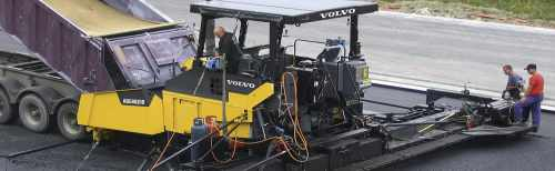 Volvo Tracked and Wheeled Pavers