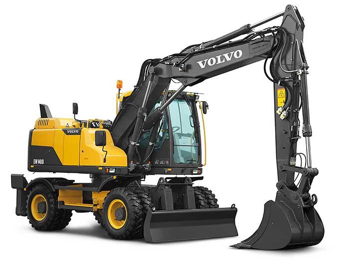 ماشین آلات راهسازی و دیزل ژنراتور ولووبیل مکانیکی ۳